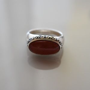 Jewelry - Orange and silver ring